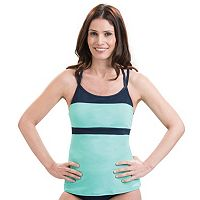 Women's Dolfin Aquashape Colorblock Tankini Top