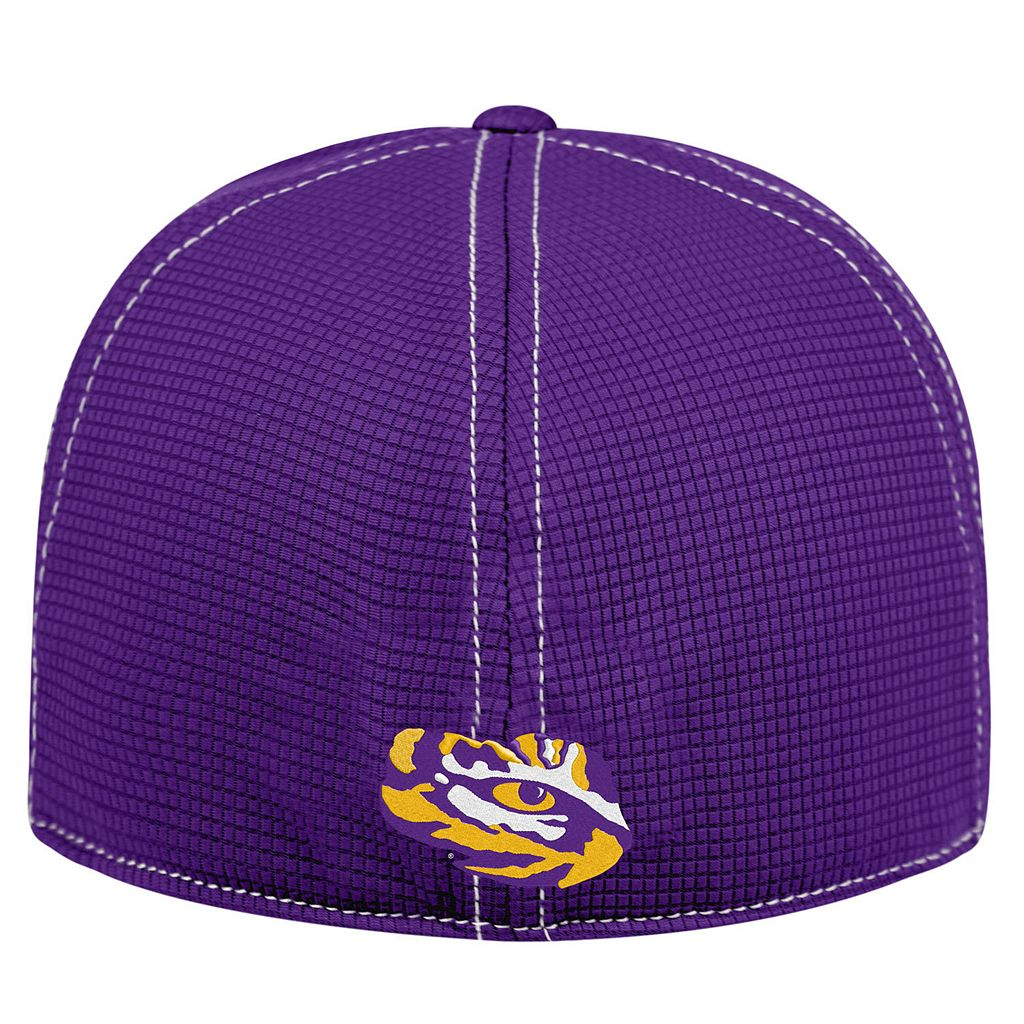 Adult Top of the World LSU Tigers Upright Performance One-Fit Cap