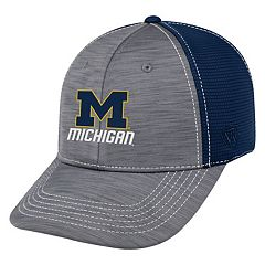 Adult Top of the World Michigan Wolverines Upright Performance One-Fit Cap