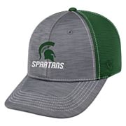 Adult Top of the World Michigan State Spartans Upright Performance One-Fit Cap
