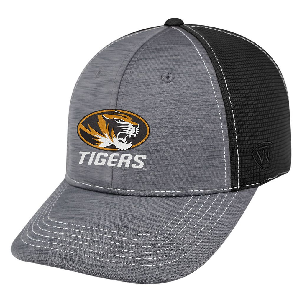 Adult Top of the World Missouri Tigers Upright Performance One-Fit Cap