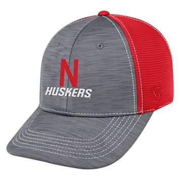 Adult Top of the World Nebraska Cornhuskers Upright Performance One-Fit Cap