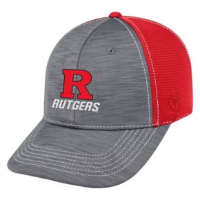 Adult Top of the World Rutgers Scarlet Knights Upright Performance One-Fit Cap