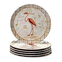 Certified International Floridian 6 pc Dinner Plate Set
