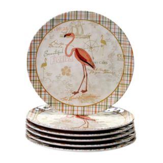 Certified International Floridian 6-pc. Dinner Plate Set