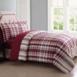 London Fog Cornwall Reversible Comforter Set
