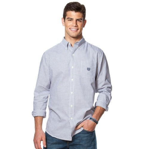 Big & Tall Chaps Classic-Fit Oxford Button-Down Shirt