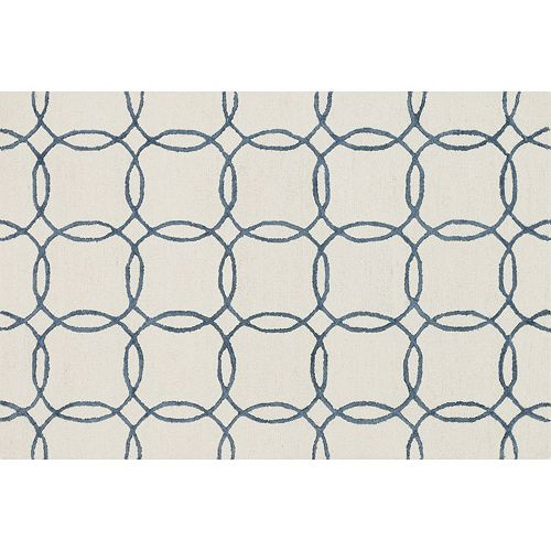 Loloi Panache Linked Circles Geometric Wool Blend Rug