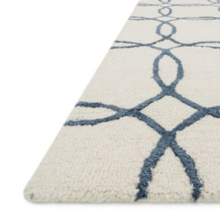 Loloi Panache Linked Circles Geometric Wool Blend Rug