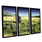 ArtWall Fall Creeps Framed Wall Art 3 pc Set