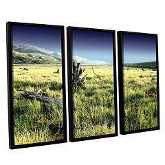ArtWall Fall Creeps Framed Wall Art 3 pc Set