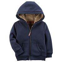 Toddler Boy Carter's Sherpa-Lined Hoodie