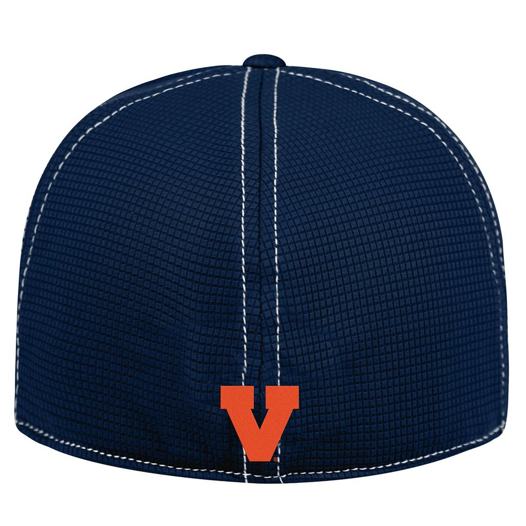 Adult Top of the World Virginia Cavaliers Upright Performance One-Fit Cap