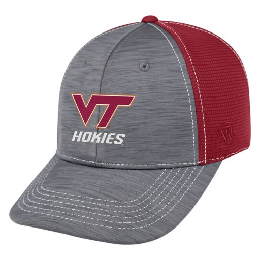 Adult Top of the World Virginia Tech Hokies Upright Performance One-Fit Cap