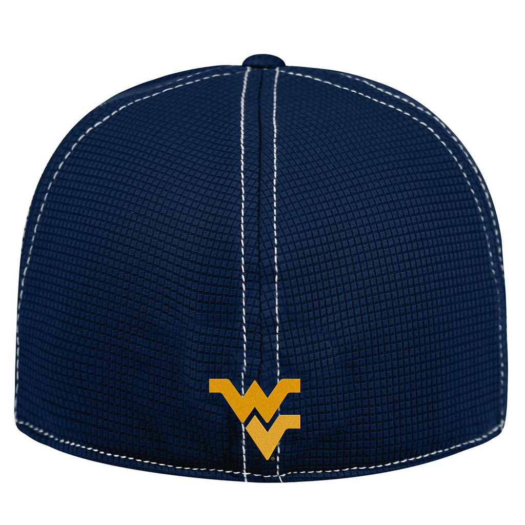 Adult Top of the World West Virginia Mountaineers Upright Performance One-Fit Cap