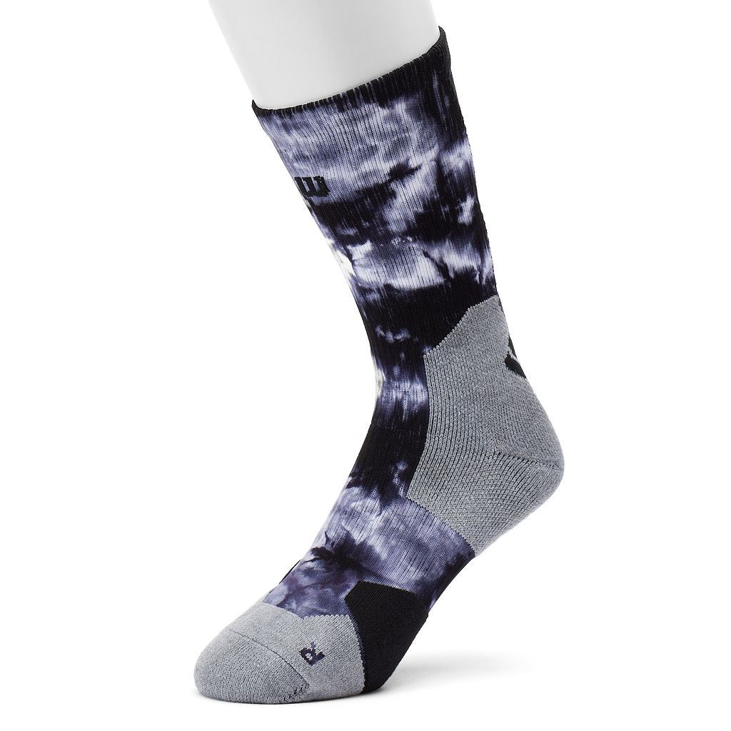 Men's Wilson Tie-Dyed Performance Basketball Crew Socks