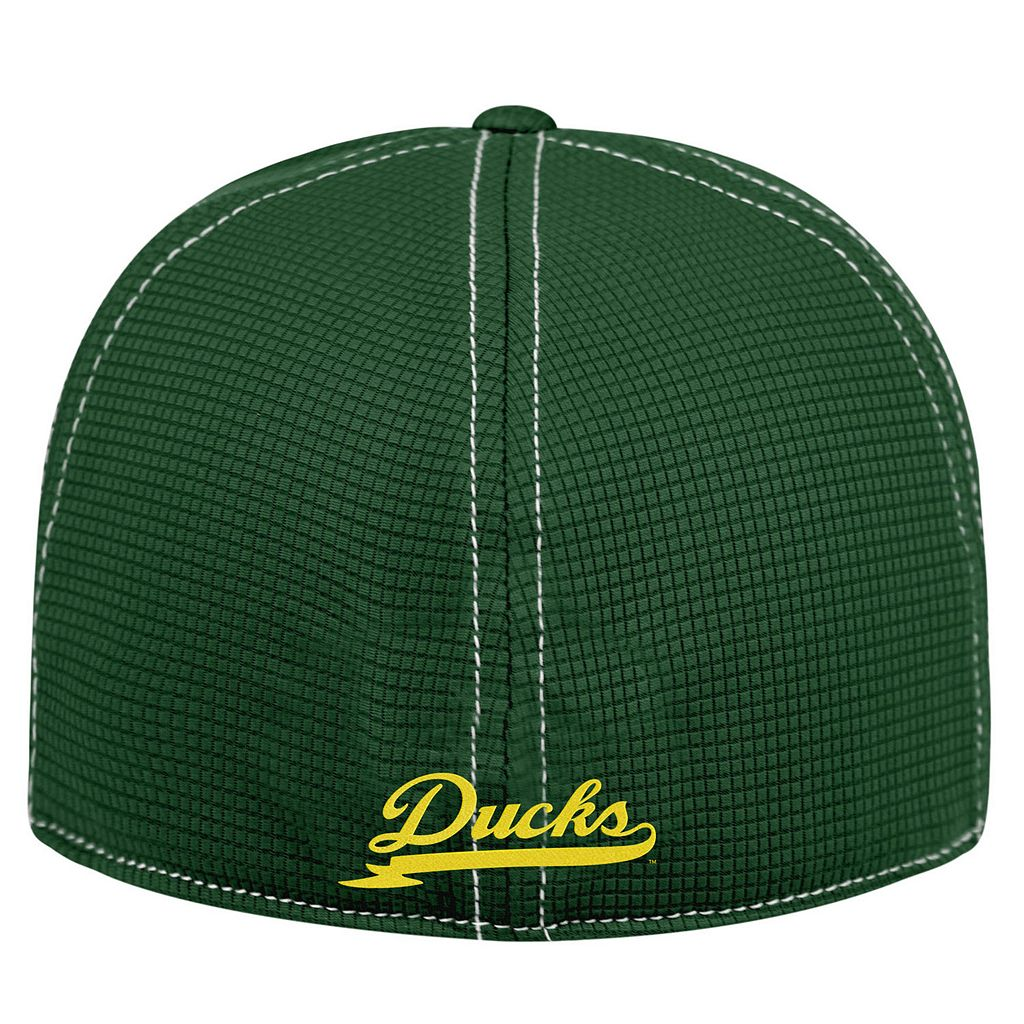 Adult Top of the World Oregon Ducks Upright Performance One-Fit Cap