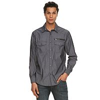Men's Rock & Republic Stretch Button-Front Shirt