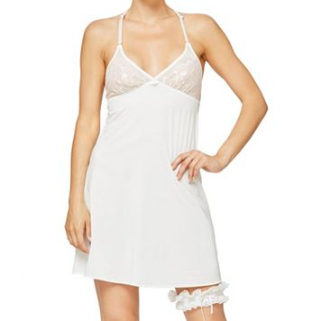 Montelle Intimates Eternally Yours Lace Garter & Chemise Set 9269