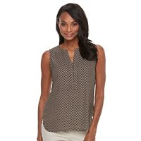Women's Dana Buchman Crepe Sleeveless Blouse