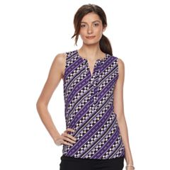 Womens Sleeveless Shirts & Blouses - Tops, Clothing | Kohl's