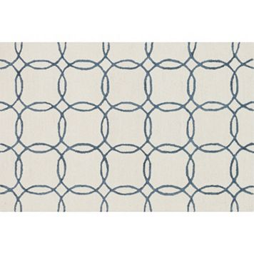 Loloi Panache Linked Circles Geometric Wool Blend Rug - 9'3'' x 13'