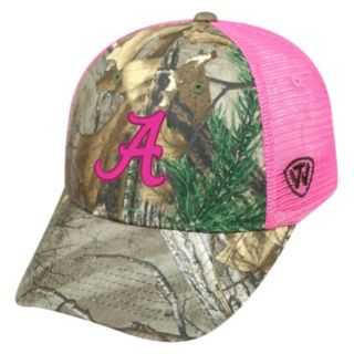 Adult Top of the World Alabama Crimson Tide Sneak Realtree Snapback Cap