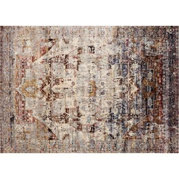 Loloi Anastasia Distressed Large Medallion Rug