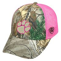 Adult Top of the World Clemson Tigers Sneak Realtree Snapback Cap