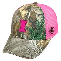 Adult Top of the World Iowa Hawkeyes Sneak Realtree Snapback Cap
