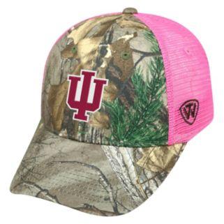 Adult Top of the World Indiana Hoosiers Sneak Realtree Snapback Cap