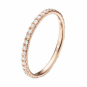 LC Lauren Conrad 10k Gold 1/2 Carat T.W. Diamond Ring
