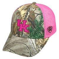 Adult Top of the World Kentucky Wildcats Sneak Realtree Snapback Cap