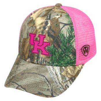 Adult Top of the World Kentucky Wildcats Sneak Realtree Snapback Cap