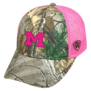 Adult Top of the World Michigan Wolverines Sneak Realtree Snapback Cap