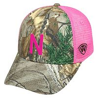 Adult Top of the World Nebraska Cornhuskers Sneak Realtree Snapback Cap