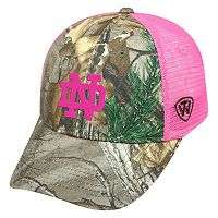 Adult Top of the World Notre Dame Fighting Irish Sneak Realtree Snapback Cap
