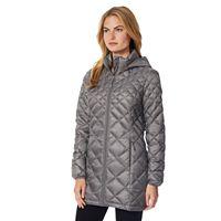 Women's Heat Keep Hooded Trench Puffer Jacket