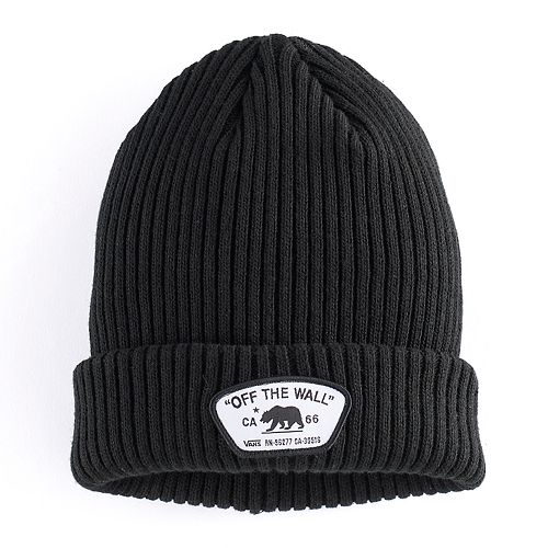 7c663fcc6e2 Men s Vans Bear Cuff Beanie