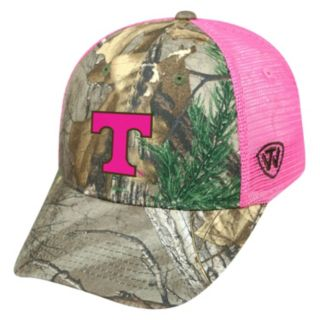 Adult Top of the World Tennessee Volunteers Sneak Realtree Snapback Cap