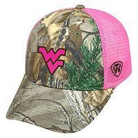 Adult Top of the World West Virginia Mountaineers Sneak Realtree Snapback Cap