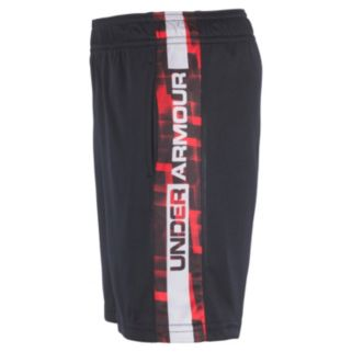 Boys 4-7 Under Armour Interval Printed Athletic Shorts