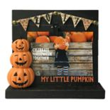 "Celebrate Halloween Together ""Pumpkin"" 4"" x 6"" Photo Clip Frame"