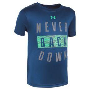 """Boys 4-7 Under Armour """"Never Back Down"""" Tee"""