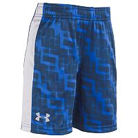 Boys 4-7 Under Armour Interval Patterned Athletic Shorts