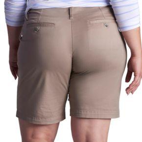 Plus Size Lee Essential Chino Bermuda Shorts