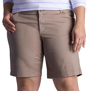 Plus Size Lee Essential Chino Bermuda Shorts