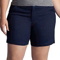 Plus Size Lee Chino Bermuda Shorts