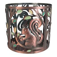 SONOMA Goods for Life™ Large Metal Squirrel Candle Jar Holder