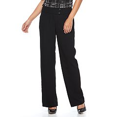 Women's Apt. 9® Modern Fit Midrise Wide-Leg Dress Pants